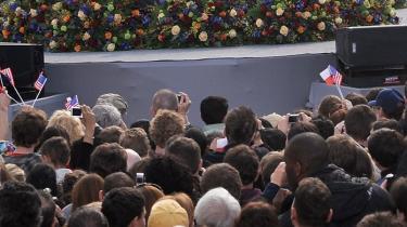 Vi lever i en tid, hvor atomkrig er utænkelig, men atomangreb er en reel risiko, var budskabet i går, da USA's præsident Barack Obama holdt tale i Prag.