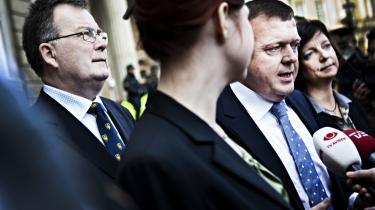 Claus Hjort Frederiksen blev i går udnævnt som ny finansminister.