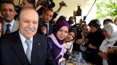 Sejren til Algeriets 72-årige leder, Abdul Aziz Bouteflika, var forudsigelig. Det eneste spørgsmål ved de nordafrikanske - og næsten alle arabiske - valg er cifrene, den siddende statsleder vinder med.