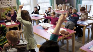 Den rummelige folkeskole skal både rumme den læsesvage elev med dårlig indlæringsevne og den superstimulerede, højt begavede elev, der kunne læse allerede inden børnehaveklassen.