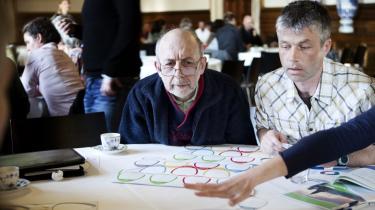 I anledning af Københavns Kommunes nye klimaplan var københavnerne inviteret til klimadebat på rådhuset. Klimaentusiasterne udfordrede klimaplanen og kom med forslag til løsninger på byens største klimaproblemer