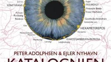Filuren Peter Adolphsen drager med sin ven Ejler Nyhavn ud på fisketur blandt poesiens traditionelle former
