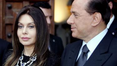 Silvio Berlusconis kone har igen fået nok af gemalens hang til yngre kvinder