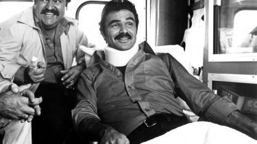 Dom DeLuise (t.v.) spillede sammen med Burt Reynolds i -Ud at køre med de skøre-.