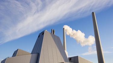 Det store kulfyrede kraftværk Avedøreværket, der leverer strøm til store dele af København.
