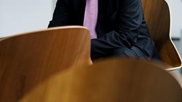 De ansatte på DTU har deres ytringsfrihed, og vi forsøger at løse samarbejdsproblemer, når de opstår, siger DTU-direktør Lars Pallesen (billedet). Men et mødereferat viser dog, at forskeren Rolf W. Berg står til at blive forflyttet fra sit institut, fordi han har kritiseret ledelsen i medierne.