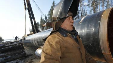 Alt imens Rusland udbygger sit gasrørledningsnet - her i nærheden af Gryazovets-Vyborg - har EU-landene indgået en aftale om at etablere en rørledning gennem Tyrkiet. Eksperter tvivler imidlertid på, at EU-landene reelt kan gøre sig mere uafhængige af de russiske gasleverancer.