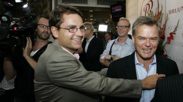 Tidligere kulturminister Brian Mikkelsen og tidligere adm. dir. for TV 2 Per Mikael Jensen kritiseres begge i Rigsrevisionens rapport.