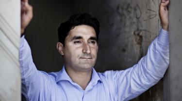 Markør. Fathi El-Abed ser også sin opstilling for SF som en promovering af de frihedsrettigheder, han rejser rundt i Mellemøsten for at forklare: Jeg kan vise, at jeg er ikke udsendt af regeringen - jeg tilhører faktisk oppositionen, siger han.