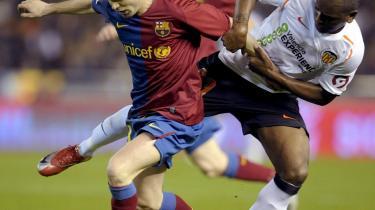 No 1. FC Barcelonas Andres Iniesta er fodboldens Houdini.