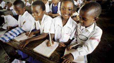 Udvikling og uddannelse. Langt den mest bistand er, trods de mange skandalesager i medierne, vellykket. Især én bistandsindsats har været en succes: Uddannelsen. I dag går omkring 90 procent af Afrikas børn i skole, og en voksen generation er klar til at overtage den politiske ledelse. -Lige under de ofte meget korrupte toppolitikere er der i dag et lag af rigtig dygtige folk i Afrika,- siger udviklingseksperten Knud Vilby. Billedet viser en skole i Mwanamakuka i Tanzania.