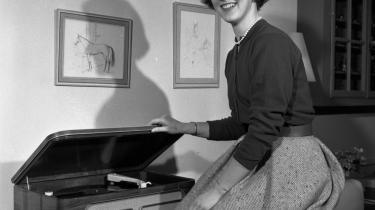 Prinsesse Margrethe i 1958 - det år hvor hun fyldte 18 år og officielt blev tronfølger.