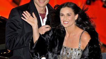 Skuespillerinden Demi Moore (46) giftede sig i 2005 med den noget yngre skuespiller og tidligere model Ashton Kutcher.
