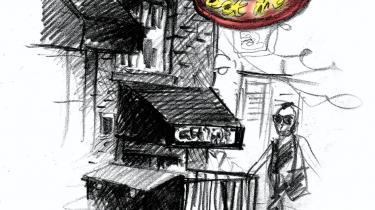 New York bliver kun skønnere for hver dag; det er, som om den hele tiden vider sig ud og vider sig ud og vider sig ud, skriver Naja Marie Aidt, der i ugens løb - blandt meget andet - har været til klagekoncert, drukket cocktails med bacon, er blevet forelsket i hotdogs og har fået en bjørn i hovedet