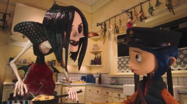 Henry Selicks stop motion-animerede 'Coraline' er et animationsteknisk kvantespring og en forunderlig, vidunderlig og udfordrende dannelsesfortælling for børn