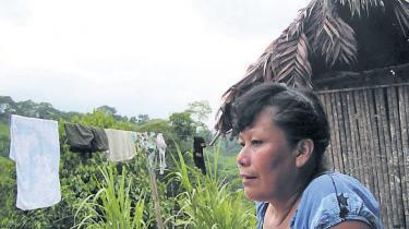 For at stoppe de mange protester oven på den seneste tids voldelige sammenstød i Perus nordlige provins går regeringen nu målrettet efter lederne af de oprin-delige folk. Information har talt med en af dem