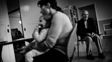 Disse irakere, der har søgt tilflugt i Brorsons Kirke på Nørrebro, har fået afslag på asyl i Danmark og står sammen med ca. 200 andre afviste irakere til at skulle tvangshjemsendes til en uvis fremtid.