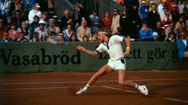 Dengang tøjet sad, som det skulle: Stramt. Bjørn Borg i 1978.