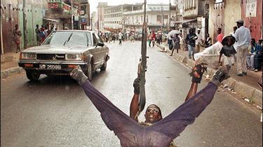 Den brutale borgerkrig i Sierra Leone op gennem 90 erne var i høj grad næret af handlen med diamanter.