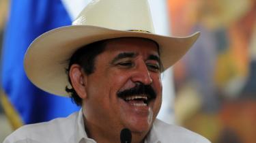 Den tidligere forretningsmand Manuel Zelaya var præsident i Honduras fra 2006 indtil han blev fjernet af det honduranske militær 28. juni 2009 og bragt til Costa Rica. Venezuelas præsident Hugo Chavez og andre venstreorienterede latinamerikanske ledere er blandt hans støtter.