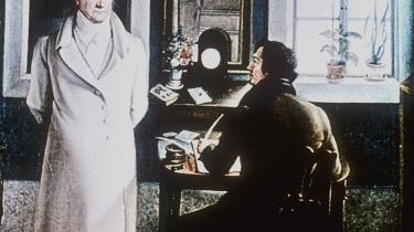 """span class=""""photo-credit"""">Foto: Goethe dikterer til sin sekretær."""