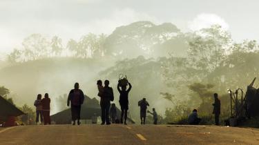 To danske digtere på rejse til Tarapoto i Peru for at deltage i en shamanistisk ayahuasca session. Begge er interesseret i de shamanistiske ritualer og planternes bevidsthedsudvidende og helbredende indvirkning på krop og psyke. Koppen med den bitre sortgrønne væske er i en vis forstand rejsens inderste dråbe