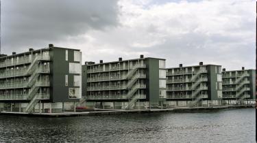 Kontorer skyder op i danske havne. Men udnytter arkitekturen vandet godt nok? Her er vi ved Teglværkshavnen i Københavns Havn.