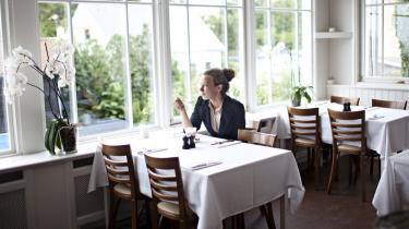 Retaureret. Strandhotellet i Tisvilde har fået et remake, hvad værelserne angår – men køkkenet har åbenbart sin omgang tilgode.