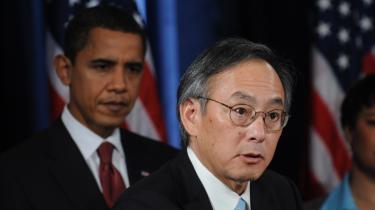 Nobelprismodtager og energiminister Steven Chu er håbefuld forud for klimatopmødet i København i december. 'Jeg tror, at vi får en traktat på plads. Det skyldes ikke mindst, at USA er godt på vej til at vedtage sin første klimalov,' siger ministeren.