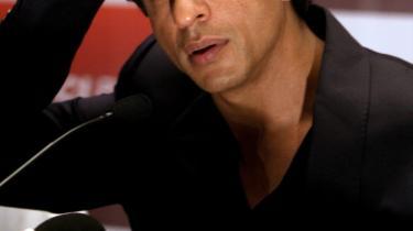 Shah Rukh Khan blev ikke genkendt i USA.
