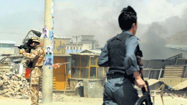 Stemmesedler bringes ud med æsler og helikoptere til de 17 mio. afghanske vælgere ved landets blot andet præsidentvalg, hvor sikkerheden skal være i top