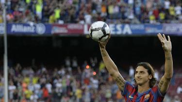 Høje forventninger. Det er en vanskelig opgave, der venter svenske Zlatan Ibrahimovic i FC Barcelona. Den spanske mesterklub vandt både hjerter og trofæer med sit smukke spil sidste sæson. Publikum forventer intet mindre i år.