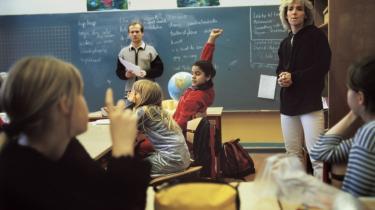 For mange er det forbundet med store problemer at være nyudknækket folkeskolelærer, fordi der bliver stillet for store krav til de nye lærere, siger Anette Storgaard