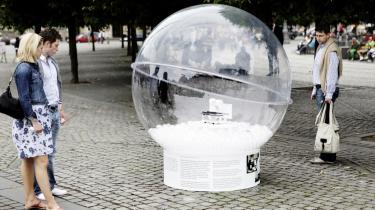 I boblerne på Kgs. Nytorv i København er der kunstige fingre, u-landskomfurer, oversvømmelsesværn og solceller i alle afskygninger.