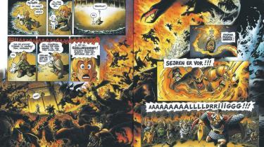 Ragnarok er over os i sidste bind af 'Valhalla'