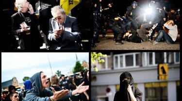 Konservativt skred. Burkaforbud, nej til moskeer, udvisning af afviste irakere. Den borgerlige anstændighed er under afvikling, siger venstrefløj såvel som højrefløj. Dansk Folkeparti, der holder landsmøde denne weekend, udråbes ofte som den store synder. Men er det overhovedet anstændigt at kalde nogen uanstændig?  Pas på ikke at blive trukket ind i en selvretfærdig politisk åleruse, lyder advarslen