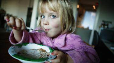 Den største madglæder er at se sine børn spise med god appetit. Og betragter man dem, mens de spiser noget, de aldrig har smagt før - og opdager at de kan lide det - så bliver det ikke meget bedre