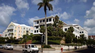 Bermuda er et af verdens mest popul©°re skattely. Her er det et af de mange forsikrings°©selskaber, der har adresse p? ©™en, og som nyder godt af landets lave beskatning.