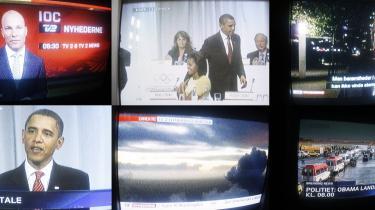 Både TV 2, TV 2 News og DR præsterede timevis af tomgangstv i forbindelse med Barack Obamas korte besøg i Danmark for at lægge en godt ord ind for Chicago i kampen om at vinde OL-væertskabet i 2016