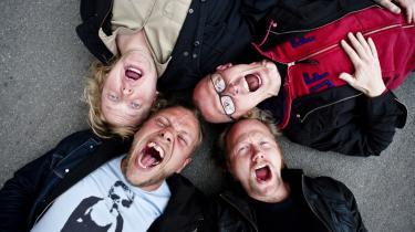 Danske Magtens Korridorer har netop udgivet deres tredje album, 'Milan Allé'.