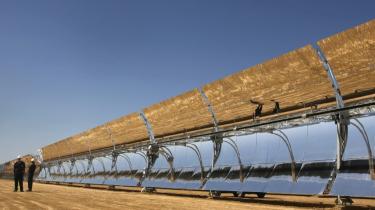 Solanlæggene i Sahara er i dag nået op på en elproduktions-kapacitet på 100.000 megawatt. Med den nye aftale mellem EU-landene og de nordafrikanske stater har Europa sikret sig fortsatte leverancer til en fast pris.