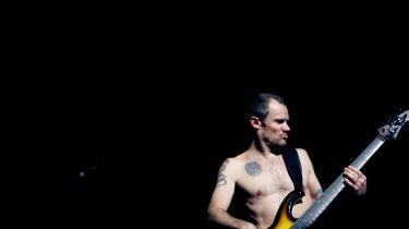 Red Hot Chili Peppers-bassisten Flea træder som mange andre af sine celebritymusiker-kolleger ud af sin vante puppe, når han samarbejder med Radiohead-forsangeren Thom Yorke.