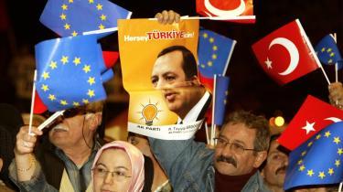 Tyrkiets udsigter til EU-medlemskab er afhængige af en løsning mellem Tyrkiet og Cypern. Premierminister Tayyip Erdogan har dog fornylig indikeret, at hans tålmodighed er ved at slippe op.