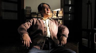 Tang Guoqiang sætter en ære i at spille Mao i den populære, men historieomskrivende film. 'Det svarer til at spille Hamlet,' siger han.