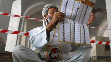 En anden valgrunde skal finde sted i Afghanistan den 7. november, meddeler talsmand for landets valgkommission