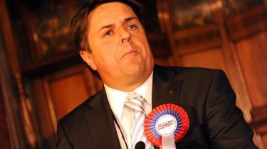 Lederen af British National Party (BNP), Nick Griffin, var ved at revne af stolthed, efter hans parti havde opnået to pladser i Europa-Parlamentet den 8. juni på sin anti-indvandringspolitik.