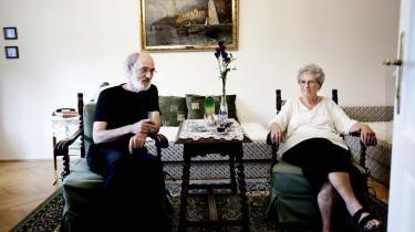 Katalin Strömquist er sammen med sin mand, Bengt, tilbage i det Budapest, hun flygtede fra i 1956.