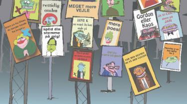 Valgkampen udkæmpes stadig på plakater i landets lygtepæle. De hjemmestrikkede slogans må dog vige for professionelt udtænkte kampagner, mens nye platforme melder sig i slaget om vælgernes opmærksomhed. Information har undersøgt sloganet som politisk våben
