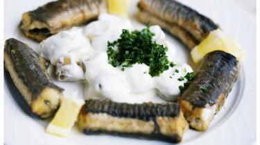 Stegt ål var en folkespise. 1.300 ton blev fanget alene i Limfjorden. Nu er fanges kun tre ton i danske farvande årligt, og fisken er en truet art.
