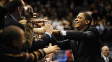 Filmen om Obamas lange valgkamp viste ham som en værdig efterfølger af og arvtager for Whitman, den gamle hvidskæggede kæmpe.